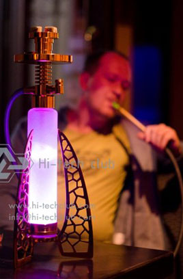 About Hi-tech Club hookah innovator