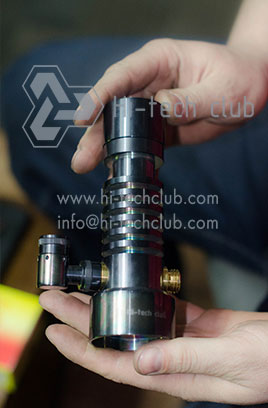 How to assemble Hi-tech club hookah