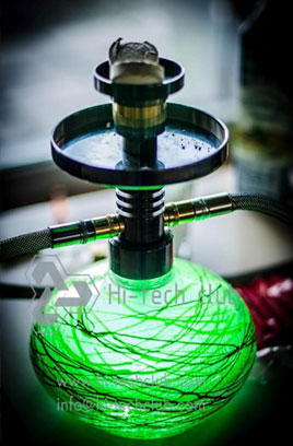 Pictures of Hi-tech club friendly hookah