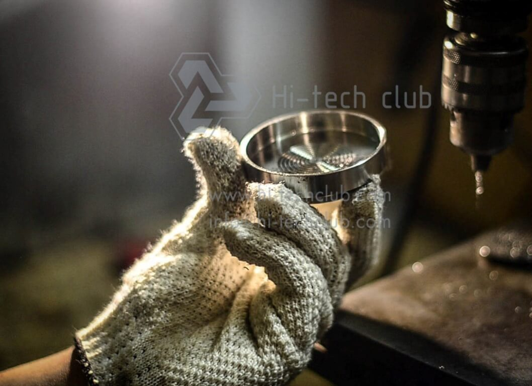 cup for coal hookah
