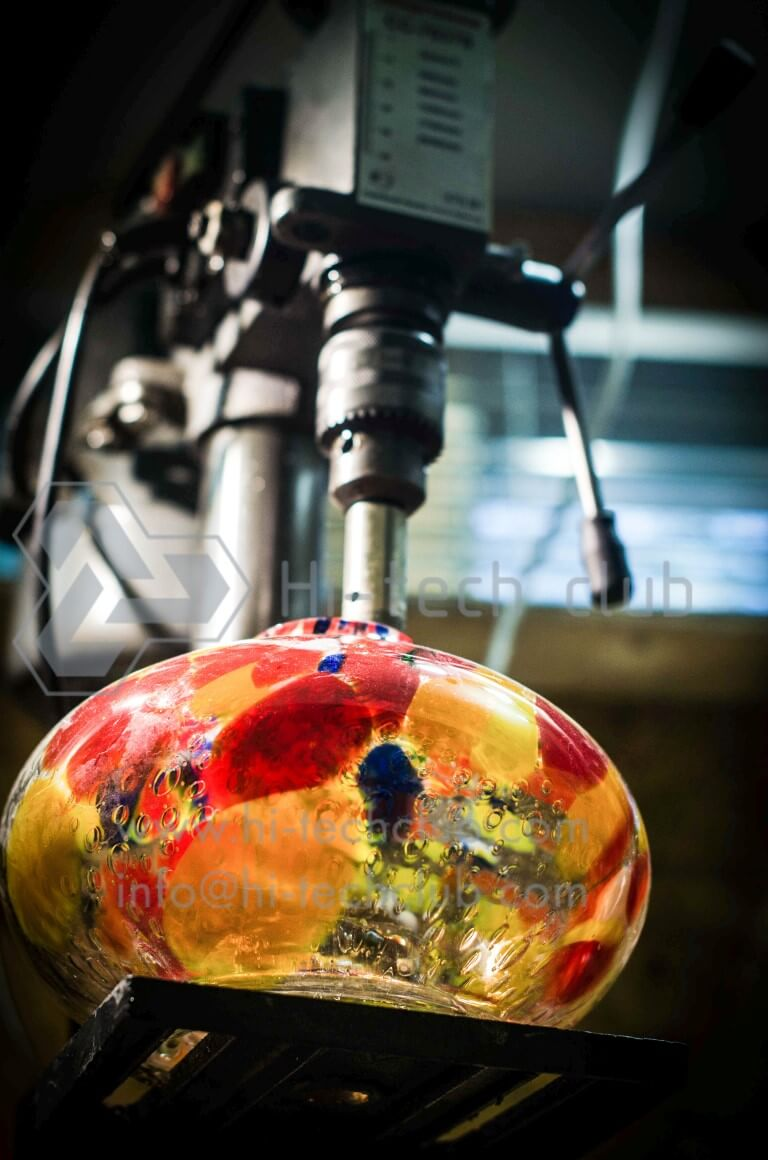shisha glass water jar