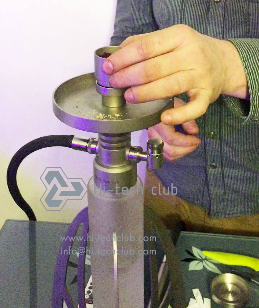 how to put a hookah together