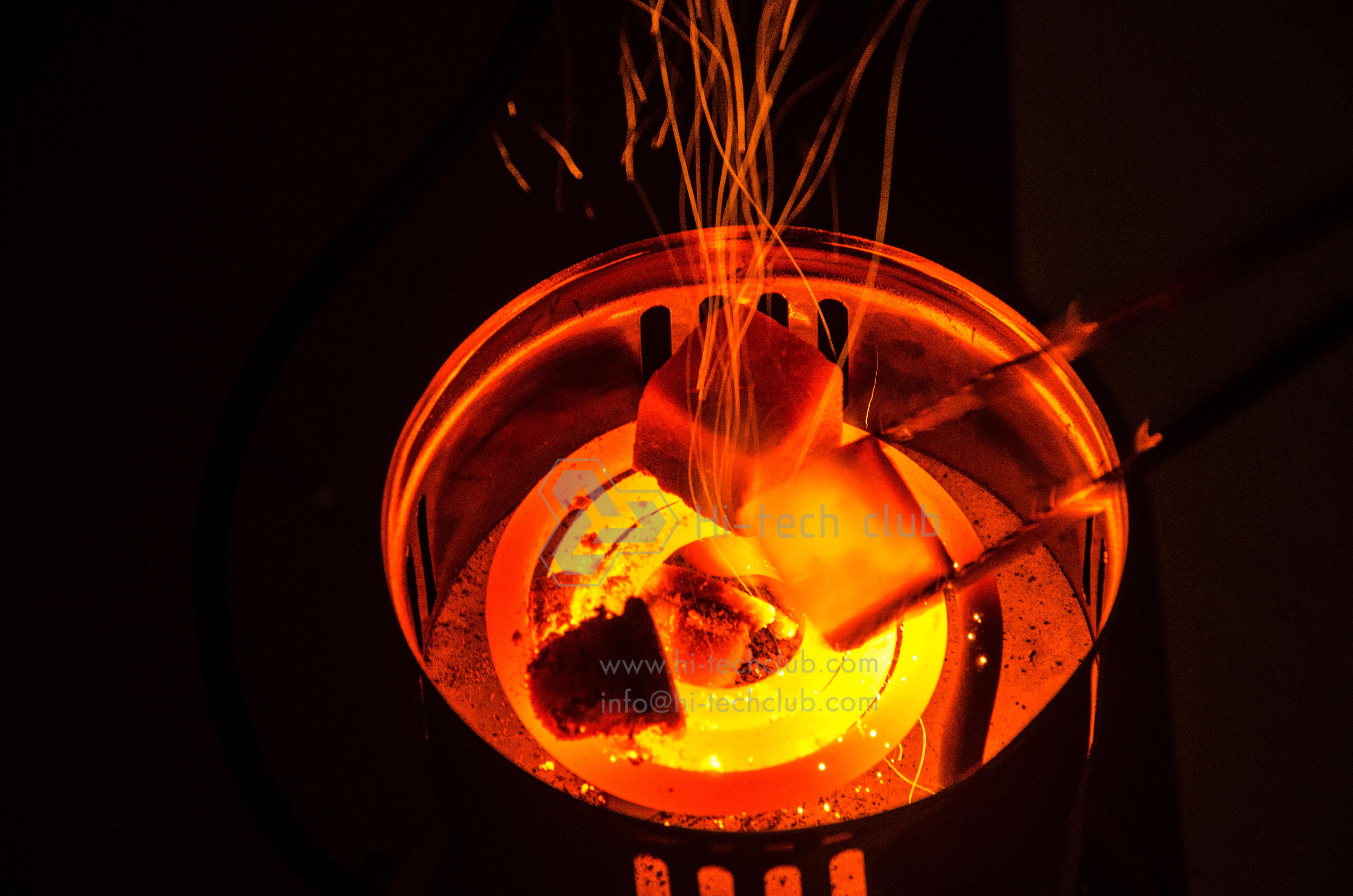 Как сделать свой уголь для кальяна 773