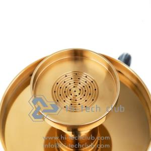 buy non foil hookah Hi-tech club coralica gold