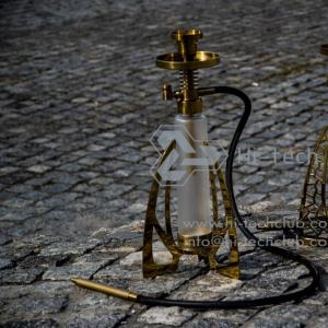 gorgeous hookah Hi-tech club gold