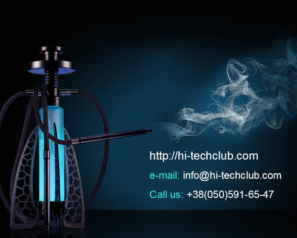 How to set up hookah Hi-tech Club